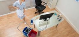 Услуги по уборке офисных помещений