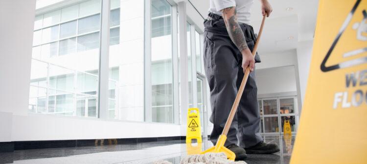 Профессиональные услуги по уборке производственных помещений
