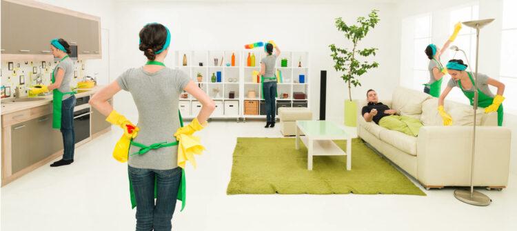 Как быстро заказать профессиональную уборку квартиры?
