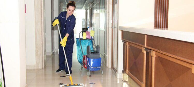 Комплексная уборка служебных помещений