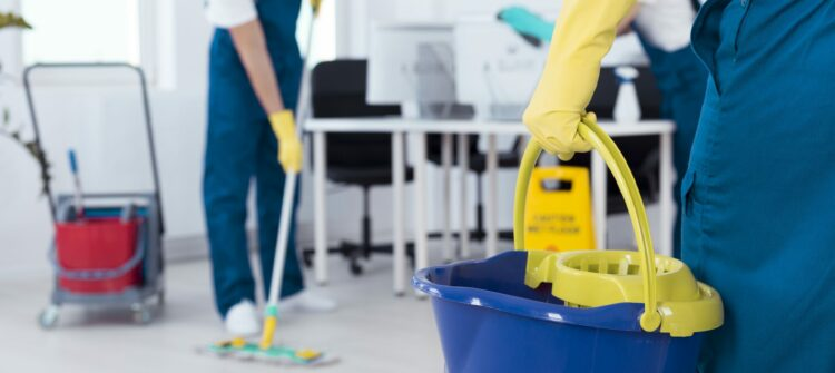 Основные особенности уборки офисных помещений